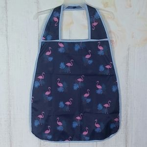 Adult Bib Waterproof Pink Flamingos